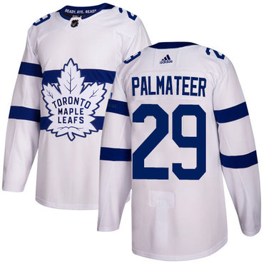 Adidas Toronto Maple Leafs #29 Mike Palmateer White Authentic 2018 Stadium Series Stitched NHL Jersey