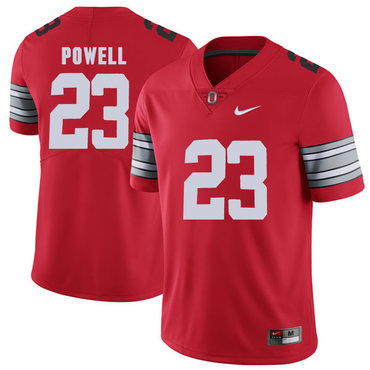 Ohio State Buckeyes 23 Tyvis Powell Red 2018 Spring Game College Football Limited Jersey