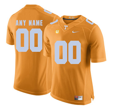 Tennessee Volunteers Orange Men's Customized College Football Jersey