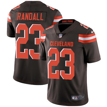 Nike Cleveland Browns #23 Damarious Randall Brown Team Color Men's Stitched NFL Vapor Untouchable Limited Jersey