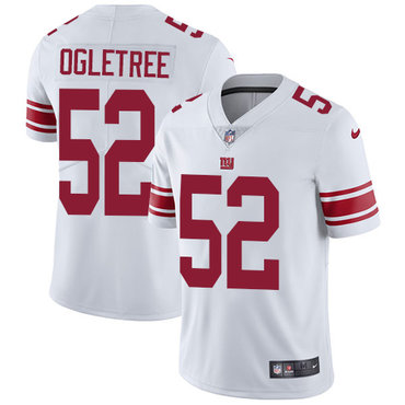 Nike New York Giants #52 Alec Ogletree White Men's Stitched NFL Vapor Untouchable Limited Jersey