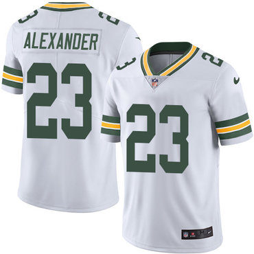 Nike Green Bay Packers #23 Jaire Alexander White Men's Stitched NFL Vapor Untouchable Limited Jersey