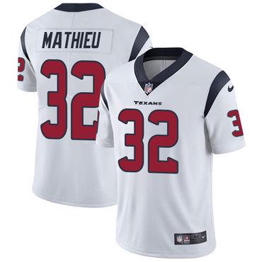Nike Houston Texans #32 Tyrann Mathieu White Men's Stitched NFL Vapor Untouchable Limited Jersey
