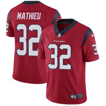 Nike Houston Texans #32 Tyrann Mathieu Red Alternate Men's Stitched NFL Vapor Untouchable Limited Jersey