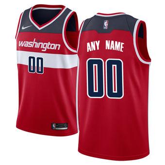 Men's Washington Wizards Nike Red Swingman Custom Icon Edition Jersey