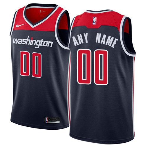 Men's Washington Wizards Nike Navy Swingman Custom Icon Edition Jersey