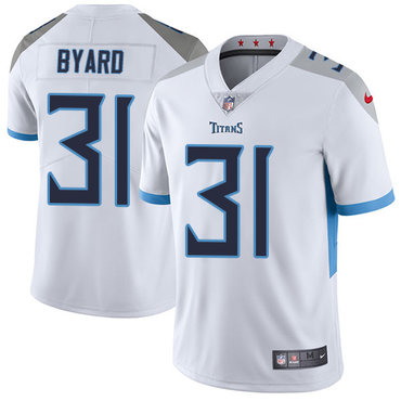 Nike Tennessee Titans #31 Kevin Byard White Men's Stitched NFL Vapor Untouchable Limited Jersey