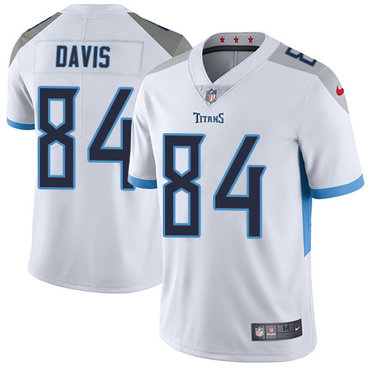 Nike Tennessee Titans #84 Corey Davis White Men's Stitched NFL Vapor Untouchable Limited Jersey
