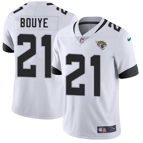 Nike Jacksonville Jaguars #21 A.J. Bouye White Men's Stitched NFL Vapor Untouchable Limited Jersey