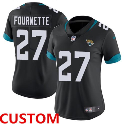 Nike Jacksonville Jaguars Black Alternate Women's Stitched NFL Vapor Untouchable Limited Jersey