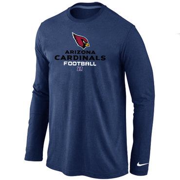 Nike Arizona Cardinals Critical Victory Long Sleeve T-Shirt D.Blue
