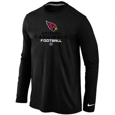 Nike Arizona Cardinals Critical Victory Long Sleeve T-Shirt Black