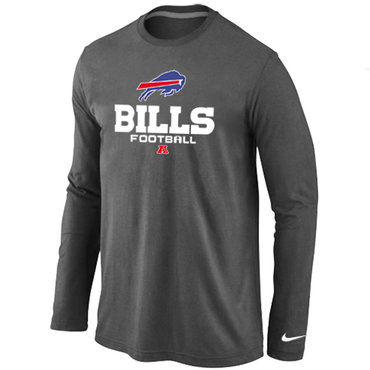 Nike Buffalo Bills Critical Victory Long Sleeve T-Shirt D.Grey