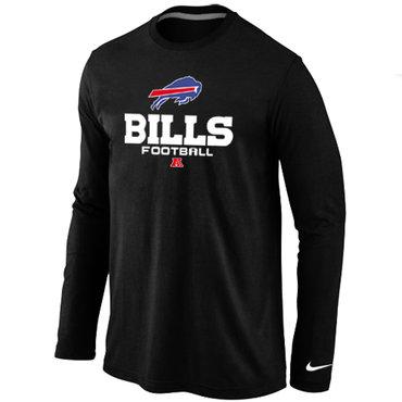 Nike Buffalo Bills Critical Victory Long Sleeve T-Shirt Black