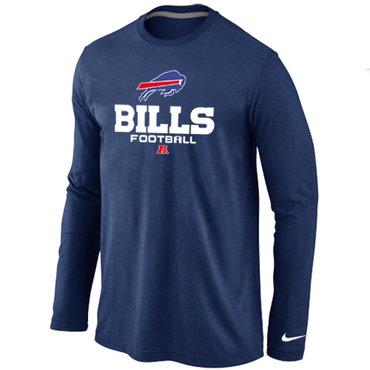Nike Buffalo Bills Critical Victory Long Sleeve T-Shirt Blue