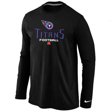 Nike Tennessee Titans Critical Victory Long Sleeve T-Shirt Black