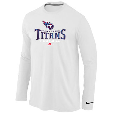 Nike Tennessee Titans Critical Victory Long Sleeve T-Shirt White