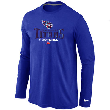 Nike Tennessee Titans Critical Victory Long Sleeve T-Shirt Blue