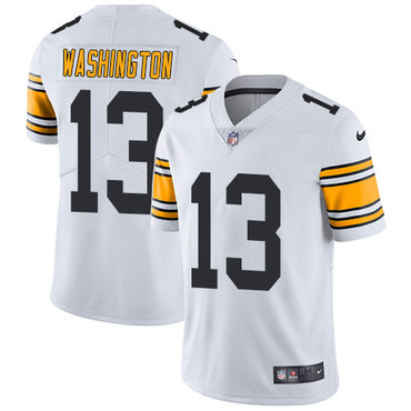 Nike Pittsburgh Steelers #13 James Washington White Men's Stitched NFL Vapor Untouchable Limited Jersey