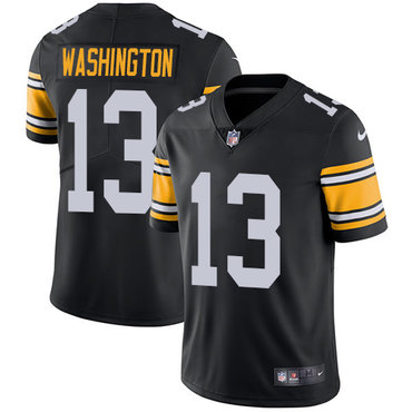 Nike Pittsburgh Steelers #13 James Washington Black Team Color Men's Stitched NFL Vapor Untouchable Limited Jersey
