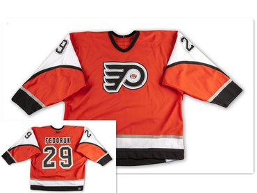 Philadelphia Flyers #29 Todd Fedoruk Orange Home 2006/07 Jersey