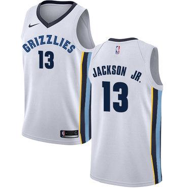 Nike Memphis Grizzlies #13 Jaren Jackson Jr. White NBA Swingman Association Edition Jersey