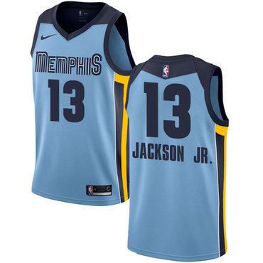 Nike Memphis Grizzlies #13 Jaren Jackson Jr. Light Blue NBA Swingman Statement Edition Jersey