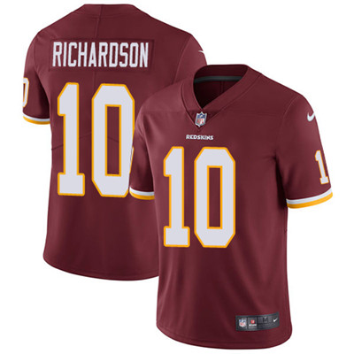 Nike Washington Redskins #10 Paul Richardson Burgundy Red Team Color Men's Stitched NFL Vapor Untouchable Limited Jersey