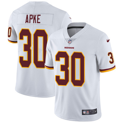 Nike Washington Redskins #30 Troy Apke White Men's Stitched NFL Vapor Untouchable Limited Jersey