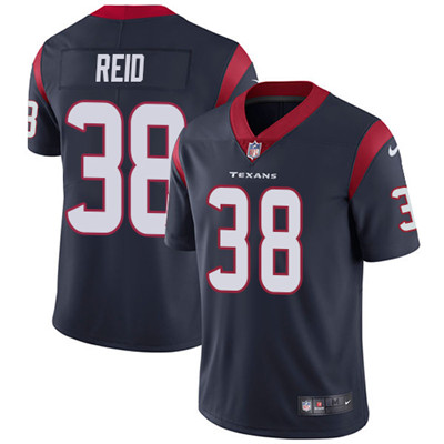 Nike Houston Texans #38 Justin Reid Navy Blue Team Color Men's Stitched NFL Vapor Untouchable Limited Jersey