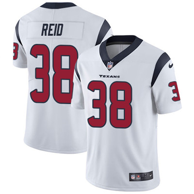 Nike Houston Texans #38 Justin Reid White Men's Stitched NFL Vapor Untouchable Limited Jersey