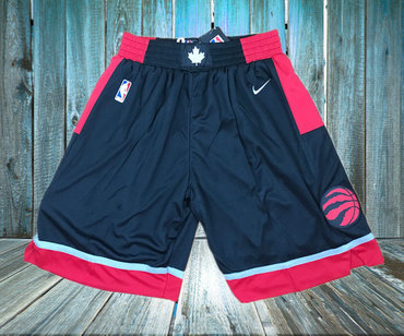 Toronto Raptors Black Nike Swingman Shorts