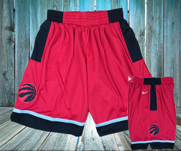 Toronto Raptors Red Nike Swingman Shorts
