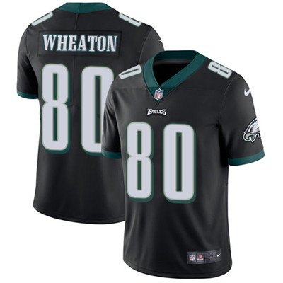 Nike Philadelphia Eagles #80 Markus Wheaton Black Alternate Men's Stitched NFL Vapor Untouchable Limited Jersey