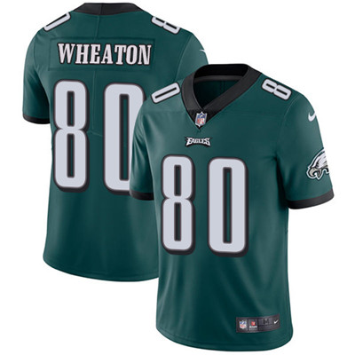Nike Philadelphia Eagles #80 Markus Wheaton Midnight Green Team Color Men's Stitched NFL Vapor Untouchable Limited Jersey