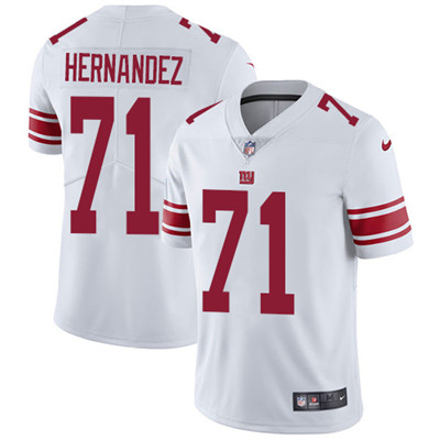 Nike New York Giants #71 Will Hernandez White Men's Stitched NFL Vapor Untouchable Limited Jersey