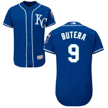 Kansas City Royals #9 Drew Butera Royal Blue Flexbase Authentic Collection Stitched Baseball Jersey
