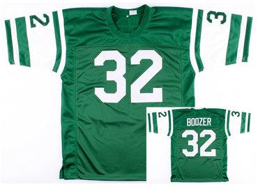 New York Jets #32 Emerson Boozer Green Throwback Jersey