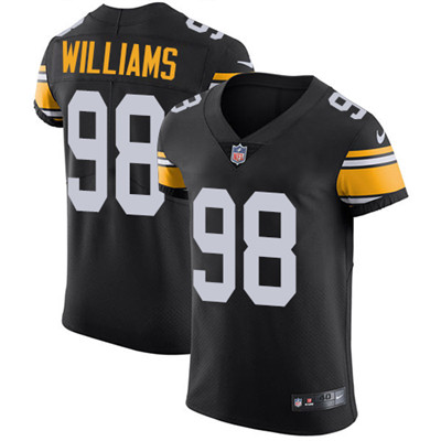 Nike Steelers #98 Vince Williams Black Alternate Men's Stitched NFL Vapor Untouchable Elite Jersey