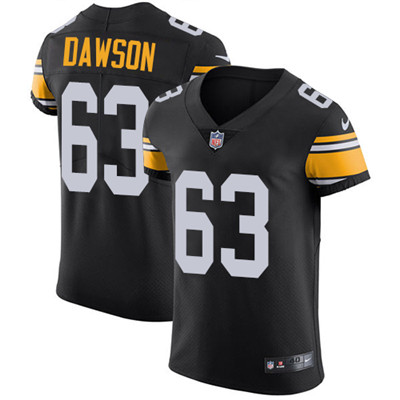 Nike Steelers #63 Dermontti Dawson Black Alternate Men's Stitched NFL Vapor Untouchable Elite Jersey