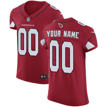 Men's Nike Arizona Cardinals Red Customized Vapor Untouchable Player Elite Jersey