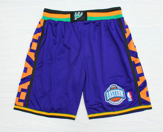 1995 All-Star Purple Hardwood Classics Swingman Shorts