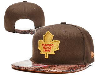 Toronto Maple Leafs Snapback Ajustable Cap Hat YD 3
