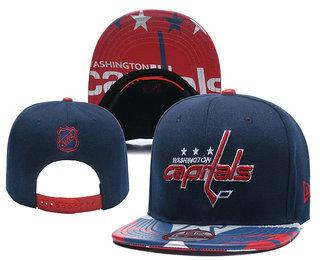 Washington Capitals Snapback Ajustable Cap Hat YD