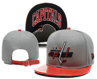 Washington Capitals Snapback Ajustable Cap Hat YD 3