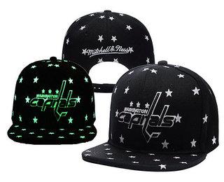 Washington Capitals Snapback Ajustable Cap Hat YD 1