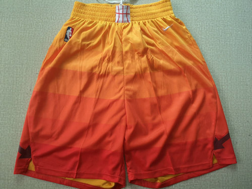 Nike Utah Jazz Orange NBA Swingman City Edition Shorts