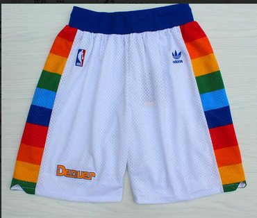 Denver Nuggets White Short