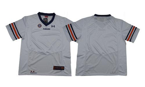 Auburn Tigers Under armour White NCAA Custom 2018 Jersey