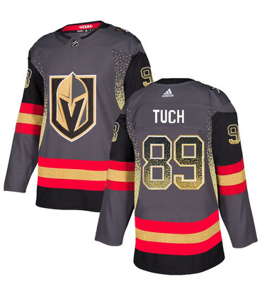 Men's Vegas Golden Knights #89 Alex Tuch Gray Drift Fashion Jersey